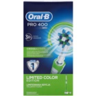 Oral B Pro 400 D16.513 CrossAction Green escova de dentes eléctrica