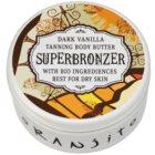 Oranjito Bio Dark Vanilla Tanning Bed Body Butter with Sunscreen