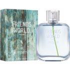 Oriflame Friends World eau de toilette férfiaknak 75 ml
