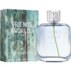 Oriflame Friends World toaletní voda pro muže 75 ml