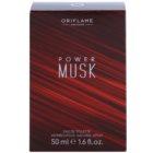 Oriflame Power Musk toaletní voda pro muže 50 ml