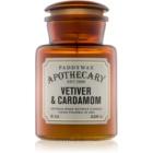 Paddywax Apothecary Vetiver & Cardamom Geurkaars 226 gr