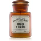 Paddywax Apothecary Amber & Smoke Αρωματικό κερί 226 γρ