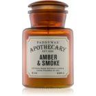 Paddywax Apothecary Amber & Smoke candela profumata 226 g