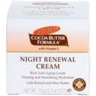 Palmer's Face & Lip Cocoa Butter Formula creme de noite renovador anti-idade de pele