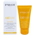 Payot Sun Sensi creme protetor facial anti-idade para peles sensíveis SPF 50+