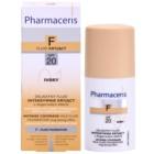 Pharmaceris F-Fluid Foundation intenzivně krycí make-up s dlouhotrvajícím efektem SPF 20