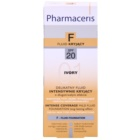 Pharmaceris F-Fluid Foundation fond de teint ultra couvrant effet longue tenue SPF 20
