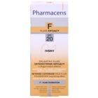 Pharmaceris F-Fluid Foundation intenzivni prekrivni tekoči puder z dolgoobstojnim učinkom SPF 20