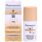 Pharmaceris F-Fluid Foundation інтенсивний тональний крем з тривалим ефектом SPF 20