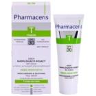 Pharmaceris T-Zone Oily Skin Sebo-Moistatic hydratační a zklidňující krém pro pleť vysušenou a podrážděnou léčbou akné