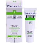 Pharmaceris T-Zone Oily Skin Octopirox crema calmante de día antirojeces  para pieles grasas y problemáticas