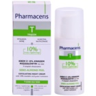 Pharmaceris T-Zone Oily Skin Sebo-Almond Peel noční regulační a čisticí pleťový krém pro obnovu povrchu pleti