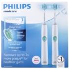 Philips Sonicare EasyClean HX6511/35 brosse à dents électrique sonique, 2 supports
