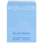 Police Blue Desire eau de toilette pour femme 40 ml
