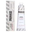 Proraso White mydlo na holenie pre citlivú pleť v tube