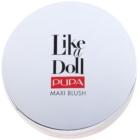 Pupa Like a Doll Maxi Blush kompaktná lícenkaso štetcom a zrkadielkom