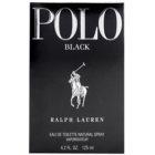 Ralph Lauren Polo Black toaletní voda pro muže 125 ml