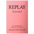 Replay Essential Eau de Toilette für Damen 20 ml