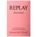 Replay Essential eau de toilette pour femme 20 ml