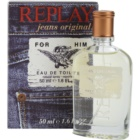 Replay Jeans Original! For Him Eau de Toilette voor Mannen 50 ml