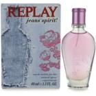 Replay Jeans Spirit! For Her Eau de Toilette voor Vrouwen  40 ml