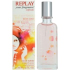 Replay Your Fragrance! Refresh For Her eau de toilette para mujer 40 ml