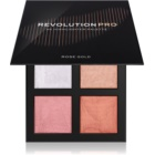 Revolution PRO 4K Highlighter Palette palette di illuminanti