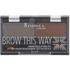 Rimmel Brow This Way paleta pro líčení obočí