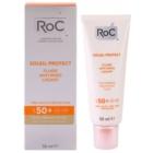 RoC Soleil Protect schützendes Fluid gegen Falten SPF 50+