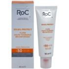 RoC Soleil Protect захисний флюїд для дуже чутливої шкіри SPF 50