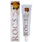 R.O.C.S. Coffee & Tobacco bleichende Zahnpasta für Raucher gegen Flecken auf dem Zahnschmelz