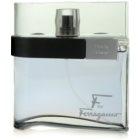 Salvatore Ferragamo F by Ferragamo Black eau de toilette férfiaknak 100 ml