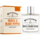 Scottish Fine Soaps Men's Grooming Thistle & Black Pepper eau de toilette pentru barbati 100 ml