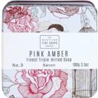 Scottish Fine Soaps Pink Amber luksusowe mydło w puszce