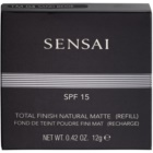 Sensai Total Finish Natural Matte pudra matuire rezervă