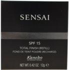 Sensai Total Finish Pudra compact cu Refill SPF 15