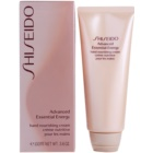Shiseido Body Advanced Essential Energy revitalisierende Creme für die Hände