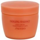 Shiseido Energizing Fragrance Body Cream tělový krém pro ženy 200 ml