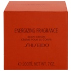 Shiseido Energizing Fragrance Body Cream crème corps pour femme 200 ml