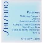 Shiseido Pureness fard compact  SPF 15 rezervă