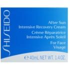 Shiseido Sun After Sun Herstellende en Hydraterende Crème  voor het Gezicht