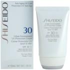 Shiseido Sun Protection хидратиращ защитен крем SPF 30