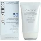 Shiseido Sun Protection Hydraterende Beschermende Crème  SPF50