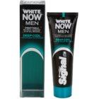 Signal White Now Men Deep Cool pasta de dientes para hombre con efecto blanqueador