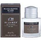 St. James Of London Black Pepper & Persian Lime woda kolońska dla mężczyzn 50 ml