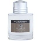 St. James Of London Black Pepper & Persian Lime borotválkozás utáni gél férfiaknak 100 ml