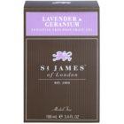 St. James Of London Lavender & Geranium borotválkozás utáni gél férfiaknak 100 ml
