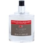 St. James Of London Sandalwood & Bergamot gél po holení pre mužov 50 ml bez krabičky cestovné balenie