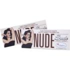 theBalm Nude Dude paleta de sombras  com pincel